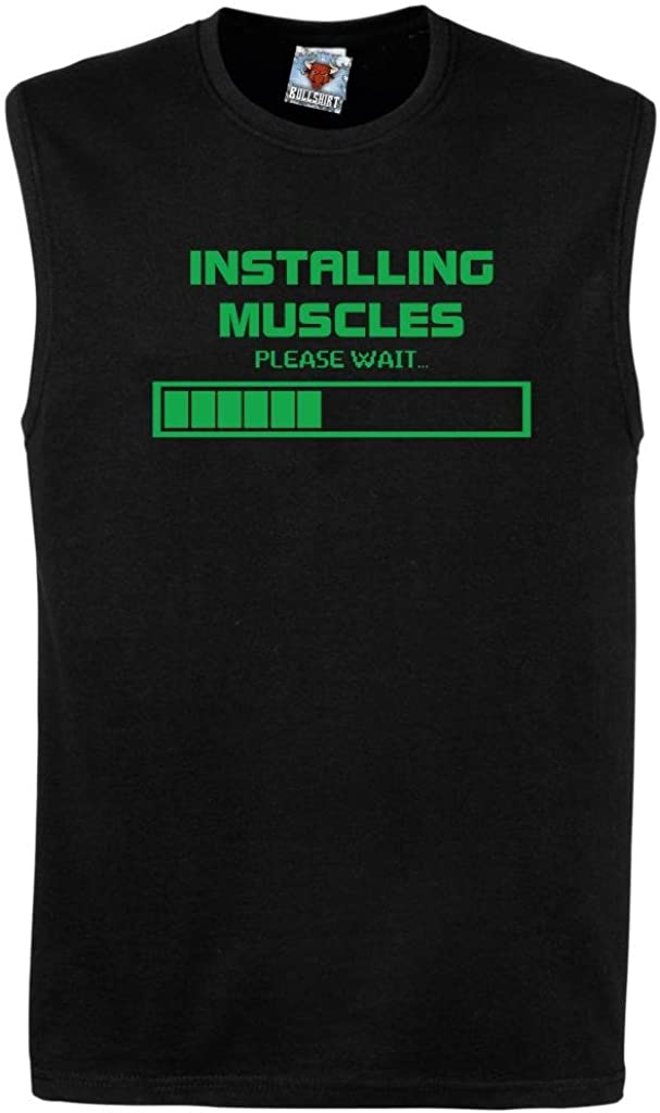 Reality Glitch Mens Installing Muscles Vest.