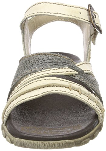 Grey Sandals Gladiator White Weiß Rovers Women's Nieve xB7wY7vq
