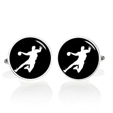 kooer balonmano Gemelos personalizados personalizado Gemelos boda ...