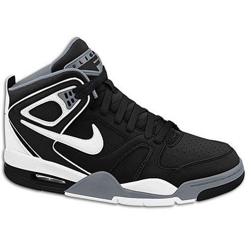 Nike Mens Air Flight Falcon Basketball Shoe Black/Cool Grey/White 9