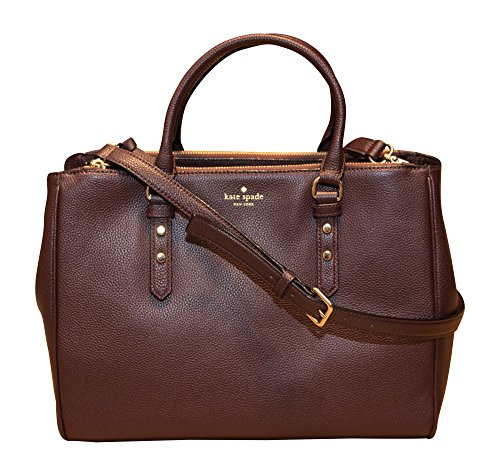 Kate Spade New York Leighann Mulberry Street Shoulder Bag Handbag, Mahogany by Kate Spade New York