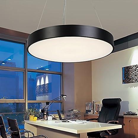 jjiezz redondo creativo lámpara oficina a techo Studio del ...
