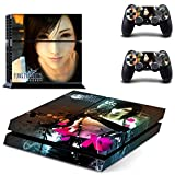 Final Fantasy VII design decal for PS4 console skin sticker decal-design