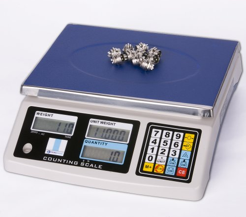 Prime Scales 33lbs / 0.001lb Counting Scale with 4 Weighing Units | Check Weighing