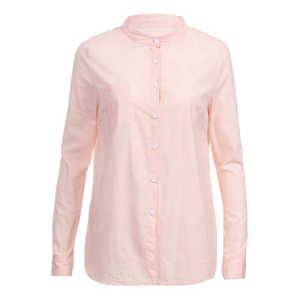 Blusa Mujer, BBestseller Otoño e Invierno Blusas para Mujer Camisas Mujer Collar de algodón Manga Larga Blusas Sudadera con Capucha Tops Camisetas Mujer: ...