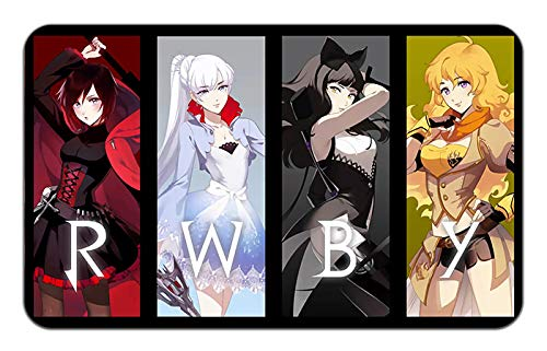 RWBY Anime Stylish Playmat Mousepad (24 x 14) inches [MP] RWBY-1 by WallScrollPosters