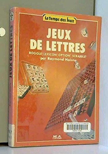 Jeux de lettres - Boggle, Lexicon, Option, Scrabble: Amazon.es: Libros