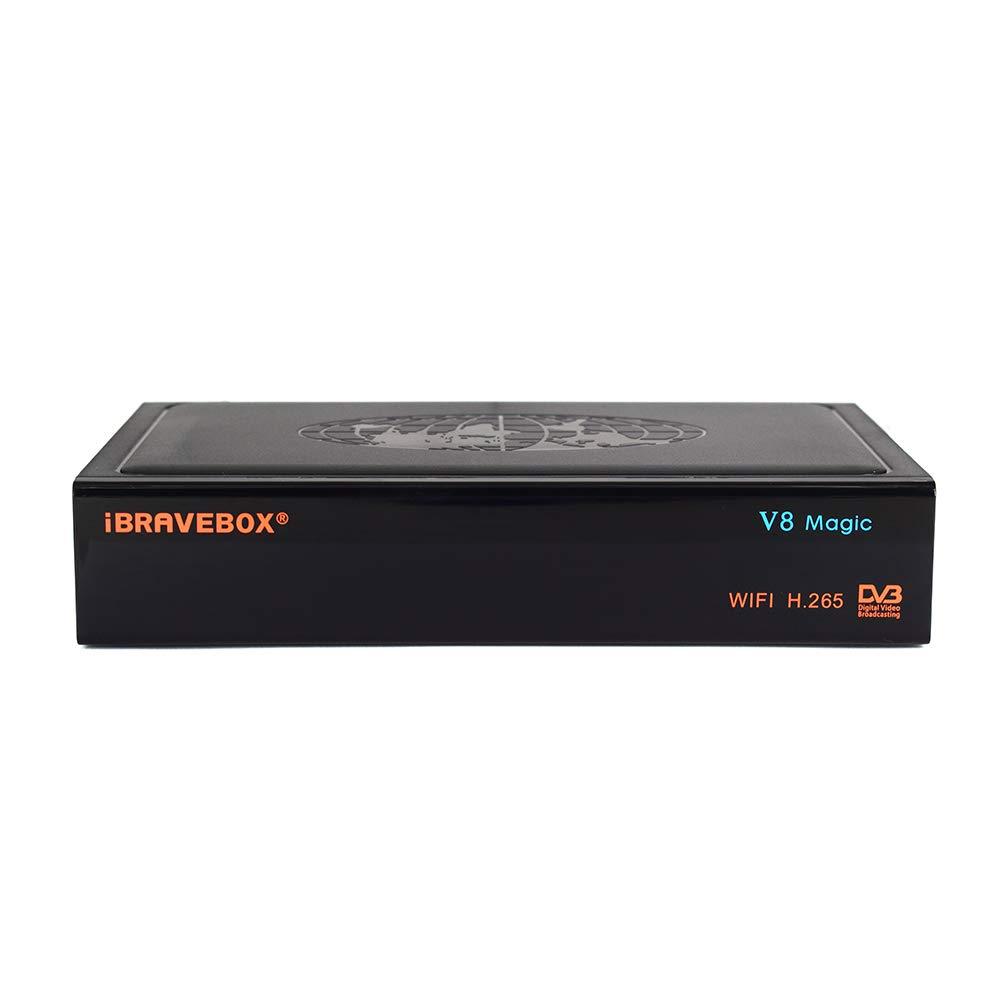 PinShang Satellite TV Receiver iBRAVEBOX V8 Magic DVB-S/S2 & IPTV Digital Free Satellite Web TV Receiver US Plug by PinShang (Image #3)
