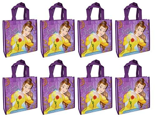 (Disney 8-Pack Beauty and The Beast Princess Belle Reusable 10