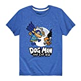 Book cover from Dog Man and Cat Kid Wmoon - Youth Short Sleeve Tee Royal Blue by J.B. ONeil
