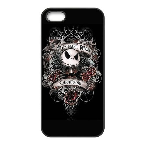 The Nightmare Before Christmas LK63HE7 coque iPhone 5 5s téléphone cellulaire cas coque J1EW6O1GQ