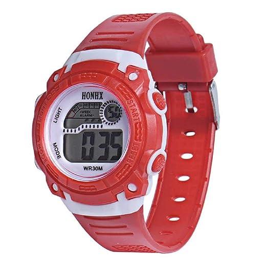 WSSVAN Reloj del estudiante Reloj multifuncional deportivo ...