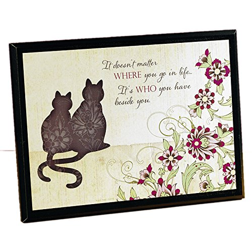 It Doesn't Matter Cat Plaque