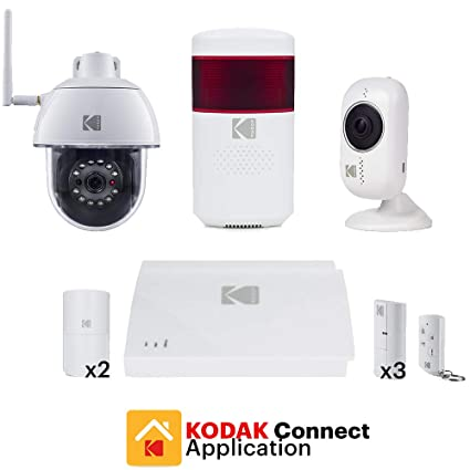 KODAK PROTECCIÓN PLATINE Sistema de Alarma para Casa con 2 ...