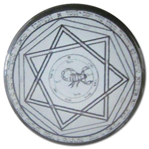 Devil's Trap (Supernatural) 1.25 Inch (Meg Supernatural Costume)