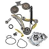 "New TK5090BSKWP (148 LINKS) Timing Chain Kit w/Updated Latest Style Tensioner + Balance Shaft Set + Water Pump Set ""DOHC"" Ecotec Engine ""Z22SE L61 L42 LSJ LNF"