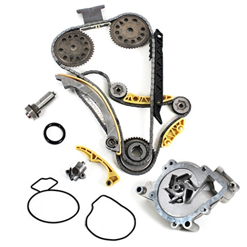 New TK5090BSKWP (148 LINKS) Timing Chain Kit w/Updated Latest Style Tensioner + Balance Shaft Set + Water Pump Set