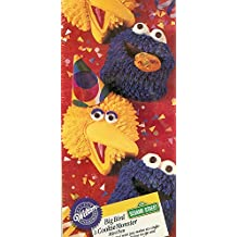 Wilton Big Bird and Cookie Monster Mini Muffin Brownie Cake Pan Mold (2105-8472, 1994) ~ Jim Henson Productions Sesame Street Characters ~ 6 Cavity ~ Retired Collectible by Wilton