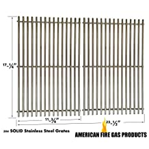 Aftermarket Weber 7526 Stainless Steel Cooking Grates For Spirit E-310, Genesis Silver B and C, Spirit 300/700, Genesis 1000-3000/Silver/Gold and Platinum Gas Grill Models, Set of 2