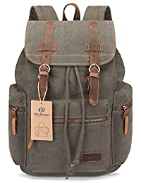 Vintage Canvas Backpacks Mens Rucksacks Casual Canvas Bags
