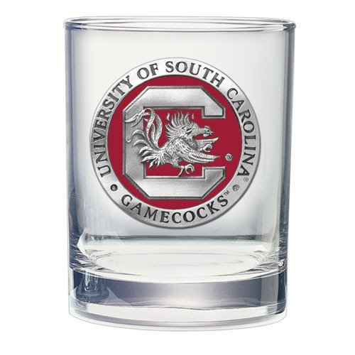 South Carolina Gamecocks Double Old Fashioned Glass - Fashioned Carolina Double Old