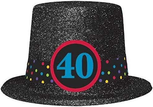 Amazon 40th Birthday Top Hat Kitchen Dining