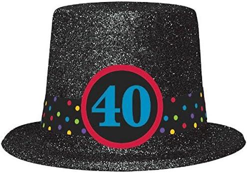 Amazon 40th Birthday Top Hat Kitchen Dining
