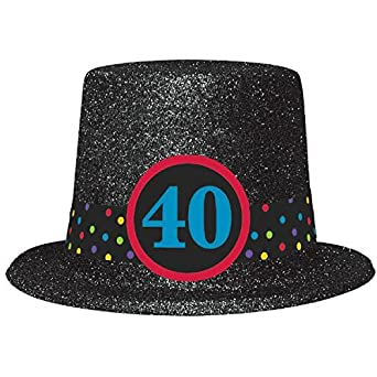Image Unavailable Not Available For Color 40th Birthday Top Hat