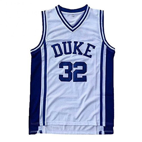 No.32 Laettner Jersey Basketball Jersey Sports Embroidery Men's Jersey White L