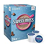 Swiss Miss Reduced Calorie Hot Cocoa, single serve capsules for Keurig K-Cup pod brewers (24 Count)
