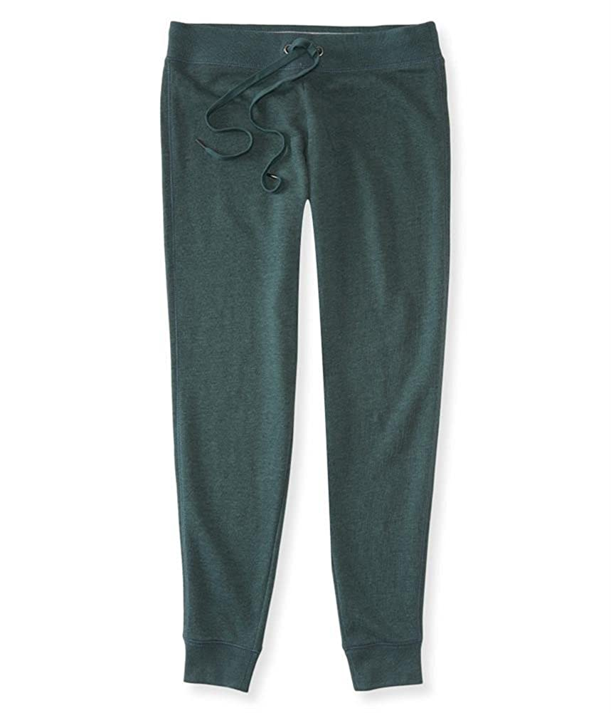 Aeropostale Womens Solid Athletic Jogger Pants 1072