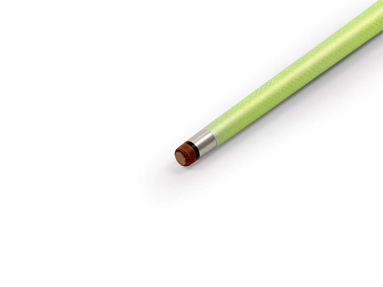 Jonny 8 Ball 57 inch NEON GREEN INFERNO 2pc Graphite Pool Snooker Cue 9mm Tip