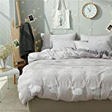 4pcs Cotton Bedding Autumn Winter Duvet Cover Without Comforter Fitted Bedsheet Pillowcases XS Twin Full Queen Princess Supersoft Animal Designs (Twin, 3pcs, Dolphin, Camel)