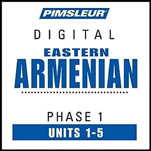 Armenian (East) Phase 1, Unit 01-05 Audiobook