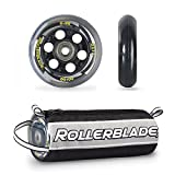 Rollerblade Wheelkit 80mm / 82A + SG7 SG7 Bearings ST & Headband Bundle