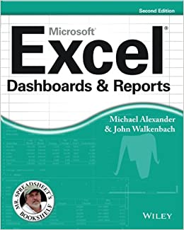Excel Dashboards And Reports (mr. Spreadsheets Bookshelf) Pdf