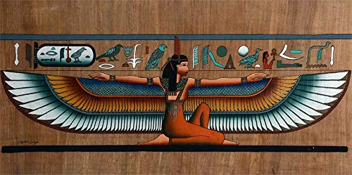 AOFOTO 6x3ft Egyptian Papyrus Backdrop Egypt Historic Temple