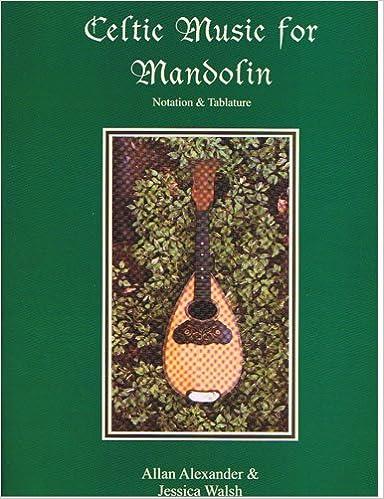 Celtic Music For Mandolin Bookaudio Cd Allan Alexander Jessica