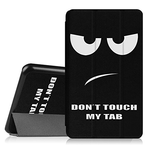 Fintie Slim Shell Case for Samsung Galaxy Tab A 7.0 - Ultra Lightweight Protective Stand Cover for Samsung Galaxy Tab A 7-inch Tablet 2016 Release (SM-T280/SM-T285), Dont Touch