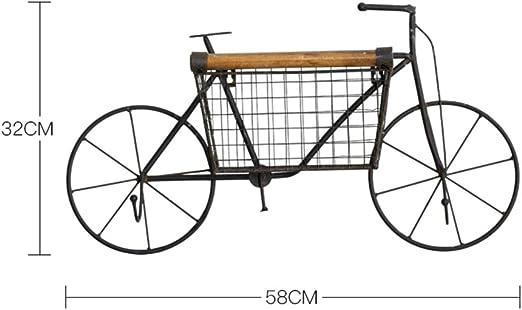 Retro antigua bicicleta de hierro forjado locker hook/decoraciones ...