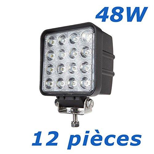 Voiture 48w 4 3 4560lm 12 Led Inch De Phare Brightum Lampe Travail X 3A5L4Rj