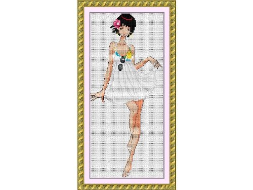 Happy Forever Cross Stitch, Cartoon, fashion show 2