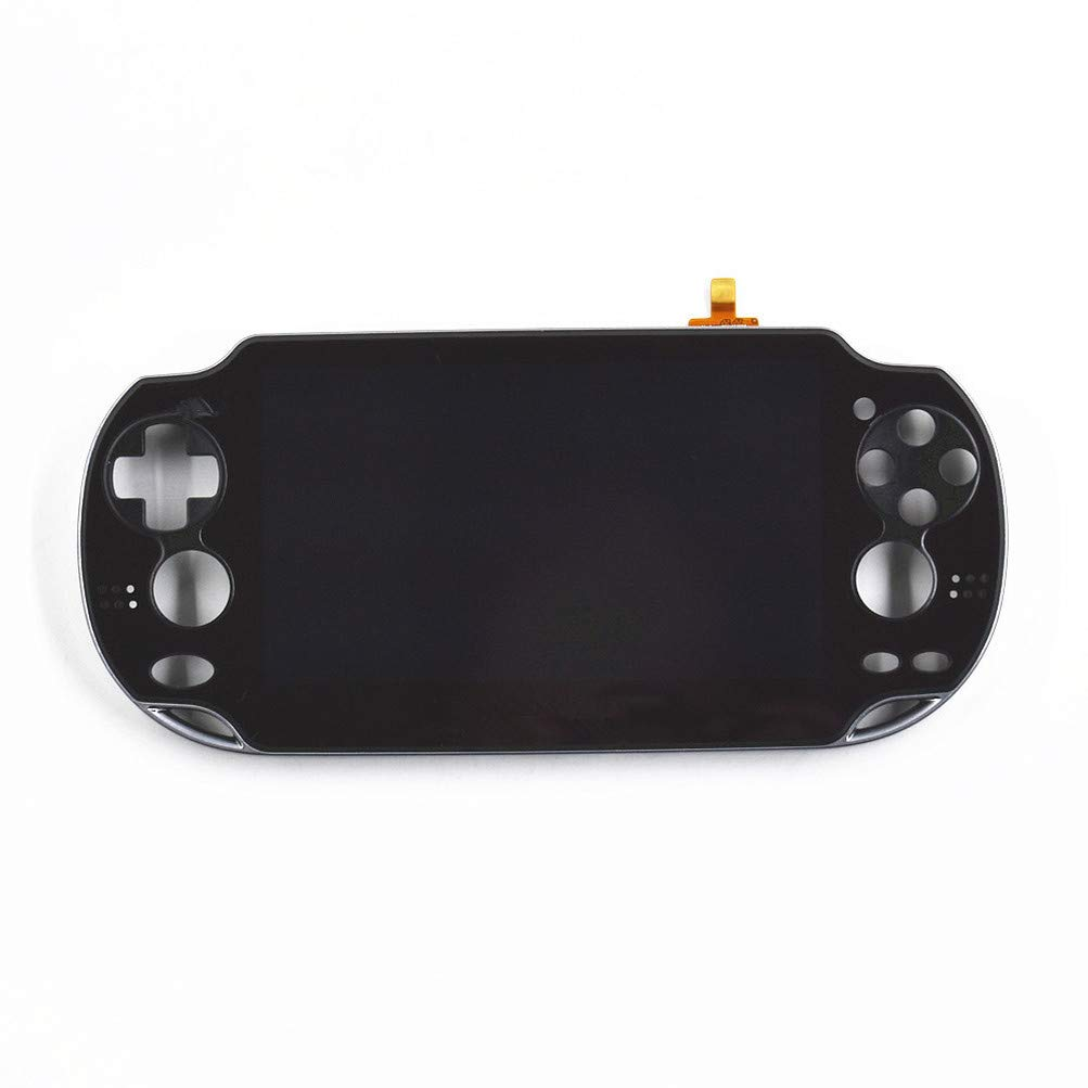 NEW LCD Screen Display Digitizer Assembly with frame FOR SONY PS Vita PCH1001 Black
