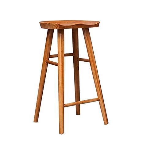 Pleasing Amazon Com Restaurant Chairs Modern Pub Chair Simple Bar Spiritservingveterans Wood Chair Design Ideas Spiritservingveteransorg