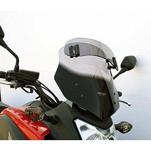 MRA VarioTouringScreen Windshield For Honda NC700X '12-'15 & NC750X '14-'15- Smoke Gray