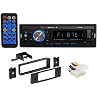 In-Dash Digital Media Bluetooth Receiver+Install Kit For 1996-1998 Honda Civic
