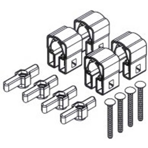 Yakima PowderHound Mounting Hardware - Set of 4 ()