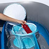 6-Person Inflatable Bay Breeze Boat Island Party
