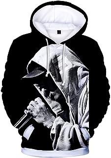 TShirtGuys Eminem Kamikaze Album Cover Hoodie Black at