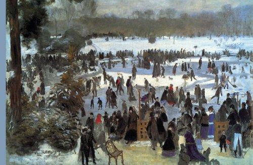 ArtsyCanvas Skating Runners in the Bois de Bologne 48